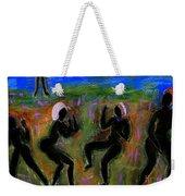 Dancing A Deliverance Prayer Weekender Tote Bag