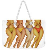 Dancing Bears Weekender Tote Bag