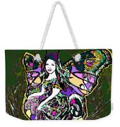 Dancing Butterfly Weekender Tote Bag