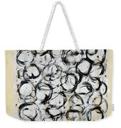 Dancing Circles Weekender Tote Bag