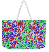 Dancing Dogs After Keith Haring 1958-90 Weekender Tote Bag