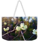 Dancing Dogwood Blooms Weekender Tote Bag