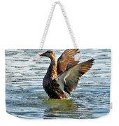Dancing Duck Weekender Tote Bag