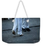 Dancing Feet At The Dominican Republic Son Party Number One Weekender Tote Bag