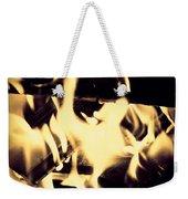 Dancing Flames Weekender Tote Bag
