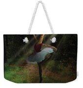 Dancing Giraffe Weekender Tote Bag