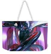 Dancing Hallucination Abstract Weekender Tote Bag