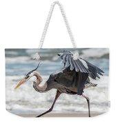 Dancing Heron #1/3 Weekender Tote Bag