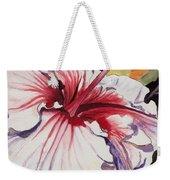 Dancing Hibiscus Weekender Tote Bag