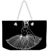 Dancing In The Dark Weekender Tote Bag