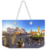 Dancing In The Square Weekender Tote Bag