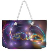 Dancing Light Weekender Tote Bag