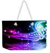 Dancing Lights Weekender Tote Bag