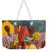 Dancing N Jammin In The Street  Abstract  Weekender Tote Bag