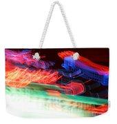 Dancing Neon Weekender Tote Bag