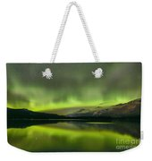 Dancing Northern Lights Weekender Tote Bag