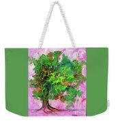 Dancing Oak Weekender Tote Bag