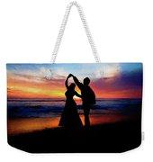 Dancing On The Beach - Painting Weekender Tote Bag