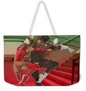 Dancing On The Stairs Weekender Tote Bag
