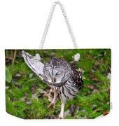 Dancing Owl Weekender Tote Bag