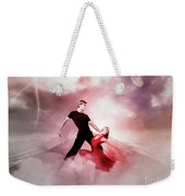 A Passionate Pair Dance In The Middle Of Nowhere, Who Embody The Strength And Subtlety Weekender Tote Bag
