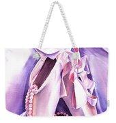 Dancing Pearls Ballet Slippers  Weekender Tote Bag