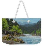 Dancing River Weekender Tote Bag