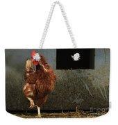 Dancing Rooster Weekender Tote Bag
