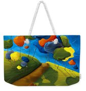 Dancing Shadows Weekender Tote Bag