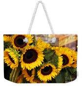 Dancing Sunflowers Weekender Tote Bag