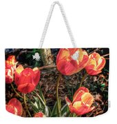 Dancing Tulips Weekender Tote Bag