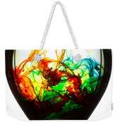 Dancing Water Colors Weekender Tote Bag