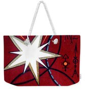 Magical Star And Symbols. Part 1 Weekender Tote Bag