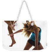 Dancing With Myself Weekender Tote Bag