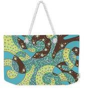 Dancing With Octopus Weekender Tote Bag