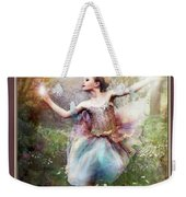 Dancing With The Light Weekender Tote Bag