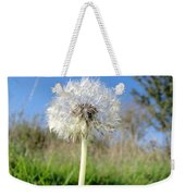 Dandelion Clock Weekender Tote Bag