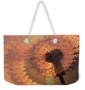 Dandelion Illusion Weekender Tote Bag