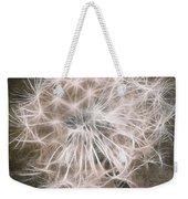 Dandelion In Brown Weekender Tote Bag by Aimelle