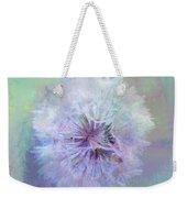 Dandelion In Pastel Weekender Tote Bag