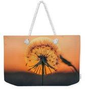 Dandelion In The Sun Weekender Tote Bag