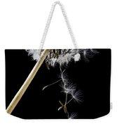 Dandelion Loosing Seeds Weekender Tote Bag