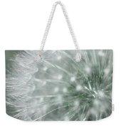 Dandelion Macro Weekender Tote Bag