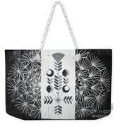 Dandelion Puff Weekender Tote Bag