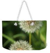 Dandelion Seed Heads Weekender Tote Bag
