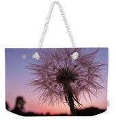 Dandelion Sunset Weekender Tote Bag