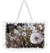 Dandelion Wishes Weekender Tote Bag by Myrna Migala