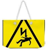 Danger Electricity Weekender Tote Bag