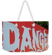 Danger - Global Warming Weekender Tote Bag