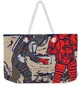 Danger In Deep Space Weekender Tote Bag